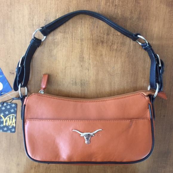 YIMA Handbags - YIMA UNIVERSITY OF TEXAS LONGHORNS PURSE HANDBAG